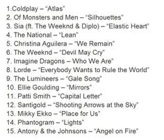The Hunger Games: Catching Fire Soundtrack. I AM SO EXCITED!!!