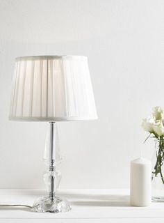 Clear Small Arabella Table Lamp