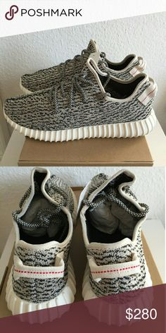 Yeezy boost 350 Turtle dove Brand new in box with receipt. all real details . Oepen for all questions Adidas Shoes Athletic Shoes
