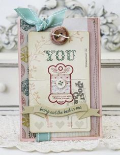 You Bring Out the Best in Me Card; Papertrey Ink Supplies Used