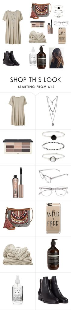 """👽"" by kendallbraaten ❤ liked on Polyvore featuring H&M, Accessorize, Benefit, American Rag Cie, Casetify, Aesop, Herbivore and 3.1 Phillip Lim"