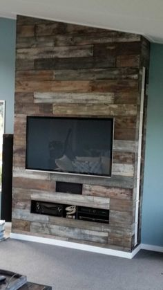 False Chimney Media Centre TV Stand & Rack Wall & Door
