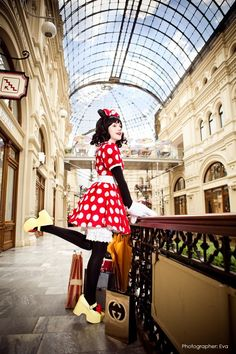 Minnie Mouse Cosplay is pretty awesome, and it's even better when it involves Disney characters!