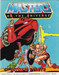He-Man.org > Publishing > Comics > Masters Of The Universe Mini-Comics (Mattel) > The Battle of Roboto