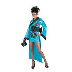 Dragon Geisha Halloween Costume for Women