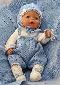 Le plus mignon des modèles de tricot pour poupon de l'année Plus