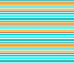 St Tropez Stripe fabric by floramoon_designs on Spoonflower - custom fabric