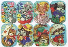 Colección personal:cromos de picar Holly Hobbie, Paper Cutting, Cut Paper, Retro Toys, Paper Roses, Vintage Paper, Embroidery Patterns, Childhood Memories, Nostalgia