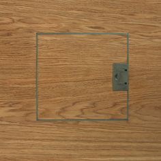Flooring and tiles Grain end matched electrical floor socket