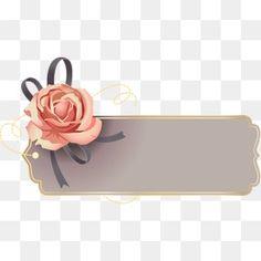 Estilo Vintage Elegante moldura de Rosas