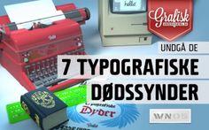 I dag handler det om typografi. Se med, hvad de 7 dødssynder er, om du måske begår nogen af dem(?!), og bliv klogere på begreber som knibe, spatiere – hvad kerning og tracking egentlig står for. Ved du iøvrigt, hvorfor det hedder 'brødtekst'?  Webinaret er til dig, der gerne vil videre ind i typografien – enten du er helt ny over for det, eller måske er erfaren, men trænger til inspiration. #grafiskundervisning.dk Se webinaret her: http://www.grafiskundervisning.dk/webinar-05/