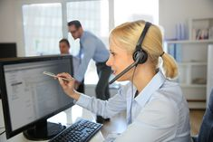 Customer service operator talking on the phone - Stock Photo , Inbound Marketing, Social Media Marketing, Observational Learning, Cloud Based Services, Getting Into Real Estate, Diy Haircut, Unified Communications, Talking On The Phone, Recent News