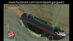 GTA IV: Multiplayer - Central Park GANG Wars - Drifting at Francis Inter...