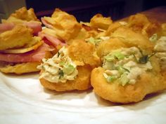 Sous Chef Baby: Appetizer Puff Sandwiches and Chicken Salad Recipe