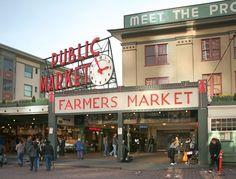 Pike Place Market, Seattle, Washington