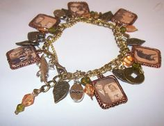 unique and lovely crafty jewelry: family tree bracelet tutorial - crafts ideas - crafts for kids