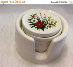 A personal favorite from my Etsy shop https://www.etsy.com/listing/275697928/on-sale-vintage-1980s-ceramic-christmas