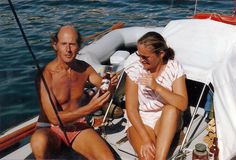 Peter and Elly take a break at Ibizia, the westernmost of the Balearic Islands, 47 miles off the Spain's mainland coast. Cruise Boat, Diy Boat, Balearic Islands, Legolas, Small Boats, Boat Building, Coast, Magazine, Adventure