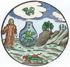Theatre of Terrestrial Astronomy. Emblem 6