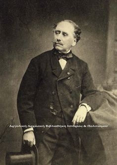 Dimitrios Kallergis (born in Mylopotamos, Crete in 1803 was a fighter of the Greek War of Independence, military officer, politician and one of the most important protagonists of the Revolution of Military Officer, Abraham Lincoln, Revolution, Greek, War, Film, Alexander The Great, Antiquities, History