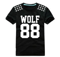 Kpop EXO Wolf 88 4 color Unisex Tshirts S M L XL by GONNICHIWA