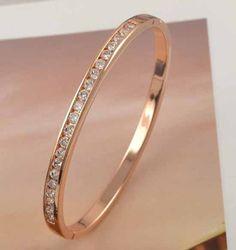 9K Rose Gold Bracelet