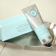 K Hall Designs Hand & Body Cream 3.4 Oz. - Egyptian Jasmine