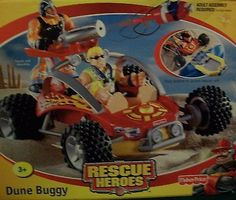 Rescue Heroes 50307: Fisher Price Rescue Heroes Dune Buggy New Sealed -> BUY IT NOW ONLY: $199 on eBay!