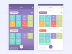 Shopping List App by Anton Chandra #Design Popular #Dribbble #shots