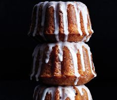 Low-Cal Desserts Fancy Enough for Guests: Orange-Cranberry Bundt Cake. #SelfMagazine