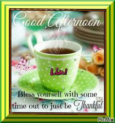 See the PicMix ~good afternoon~ belonging to lovelinpeace on PicMix. Good Afternoon, Thankful, Tableware, Creative, Dinnerware, Tablewares, Dishes, Place Settings