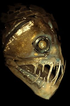 The tickle fish has only been found twice in the ocean, tickling other fish with it's soft tickly teeth