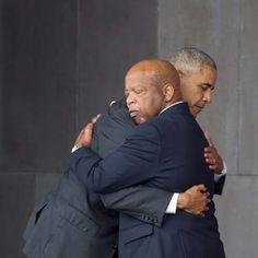 President Obama & Congressman John Lewis