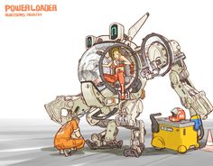 Powerloader (artist unknown)