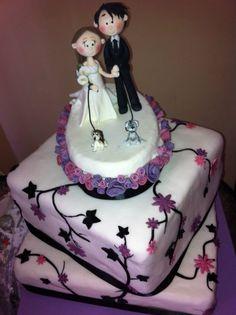 Torta cuadrada Snow White, Disney Princess, Disney Characters, Square Cakes, Grooms, Wedding, Sleeping Beauty, Disney Princes, Disney Princesses