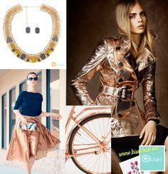 La inspiración ideal viene desde los metálicos y el color cobre, te mostramos algunas razones para adoptar el cobre en tus accesorios. http://kiwishop.mx/index.php/productos/detalles/1514