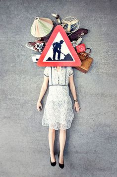 its all in your head |     Photo by oh! / Oleksandr Hnatenko Photography  #art #creative