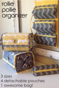 New Pattern: The Rollie Pollie Organizer | cozy nest design
