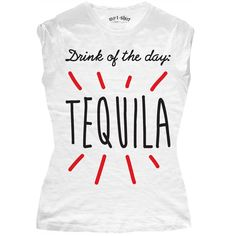 """T-SHIRT DONNA """"DRINK OF THE DAY"""""""