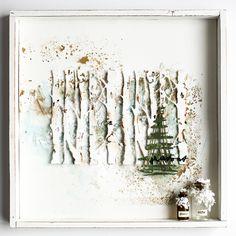 Scrapmanufaktur: Festive Scribbles - Winterliche Kritzeleien bei Sizzix