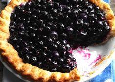 Easiest Ever Skinny Blueberry Pie.  WW 4 smartpoints