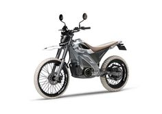 ThisYamahaElectric Motorcycle Concept Is Two Wheel Drive
