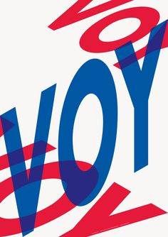 VOY Poster   Bibliothèque Design
