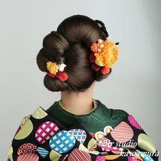 Kotomi (@kotomi.kawamura) | Instagram photos and videos Updo Styles, Hair Styles, Geisha Hair, Traditional Hairstyle, Fashion Drawing Dresses, Hair Arrange, Japanese Hairstyle, Hair Shows, Yukata