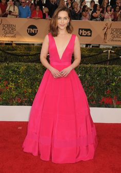 January 30: 22nd Annual Screen Actors Guild Awards – 0130 SAGAwards 0065 – Adoring Emilia Clarke – The Photo Gallery