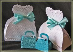 cricut bridal shower favor boxes