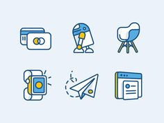 Dribbble - Full Iconset - Atlassian by Andrew McKay