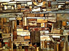 George Morrison Wood Collage - Amon Carter Museum, Fort Worth by trueself2000, via Flickr
