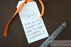 thankful crafts, thanksgiving craft, stampin up, diy give thanks tag, give thanks card, gratitude cards - Natalie Bradley