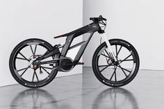 Beautiful and Powerful: Audi's E-Bike Wörthersee. What with the smart bike, may just be a new product line from all auto makers?
